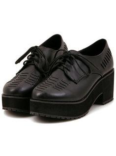chaussure Gros talon -noir  30.66
