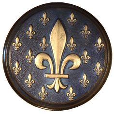 Medallón Flor de Lys