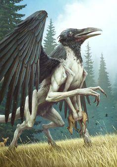 Ornitodrakon by Sergey Averkin