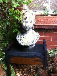 in the garden New Words, Garden Sculpture, Outdoor Decor, Home Decor, Art, Art Background, Decoration Home, Room Decor, Kunst