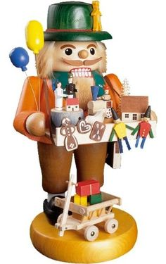 Richard Glaesser Nutcracker - A toy-maker nutcracker hand crafted and hand painted in Germany. Product Features A toy-maker nutcracker hand crafted and hand painted. Dimension: x x Made in Germany. Nutcracker Christmas Decorations, Christmas Ornaments, Christmas Things, Christmas Art, Xmas, Nutcracker Characters, German Christmas Pyramid, German Nutcrackers, Nutcracker Soldier