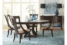 Astor Park Round Dining Table   Havertys