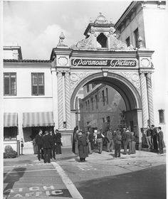 """Paramount Studios Front Gate We used to """"Hang out"""" here hoping to see Movie Stars or get """"Discovered""""!"""