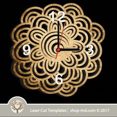 Laser cut wall clock / coaster templates, buy online now, free vector designs every day. Clock Template, Scroll Saw Patterns, Vector File, Coaster Set, Vector Design, Laser Cutting, Free Design, Templates, Wall Art