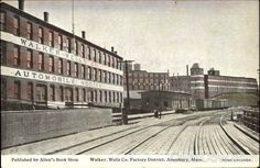 Walker Wells Co. Factory District Amesbury Massachusetts