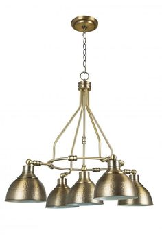 5 Light Down Chandelier : 35925-LB | LIGHTING & DESIGN BY J & K ELECTRIC
