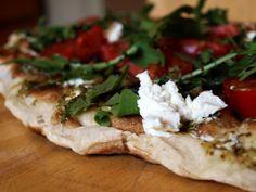 Tomato Tuesday: Grilled Caprese Flatbread Pizza