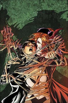 Justice League Dark #31 - Zatanna and Nightmare Nurse by Mikel Janin *