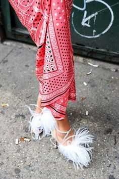 Feathered statements. @thecoveteur