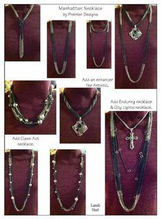 More ways to wear Manhattan #jewelry jessicanatali.mypremierdesigns.com #PremierDesigns