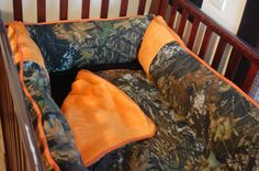 Love love love!!! i want want want lol MoSSY OaK BABY BEDDING by ITBURNSBABY on Etsy, $245.00
