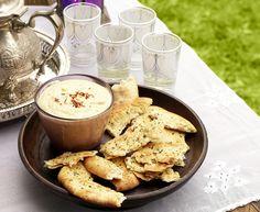 Spicy Chick Pea Dip, Indian Style, With Naan // Csicseriborsókrém, mégsem hummusz: indiai recept / Éva Magazin
