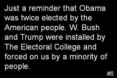 Kill the electoral college NOW! It clearly does not serve America well and is FAR too easy to manipulate.