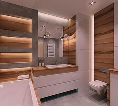 Bathroom Tile: 60 Inspirations to See Before Choosing Your Bathroom - Home Fashion Trend Wet Room Bathroom, Modern Bathroom Tile, Bathroom Design Luxury, Bathroom Design Small, Contemporary Bathrooms, Bathroom Assessories, House Design, House Styles, Jim Halpert