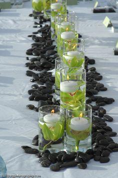 http://www.whiteorchidwedding.com/ Kerri Kinoshita onto Bouquet/Lei/Flower Arrangement Ideas