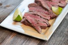 Lime and Ginger Steak - Framed Cooks. My honey bu would love this :) <3