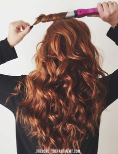 Our favorite trick for longer lasting curl...