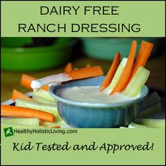 Are you looking for a healthy dairy free ranch dressing? Check out this recipe