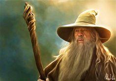 Gandalf, Lord of the Rings Fan Art