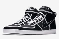 bc56f48c3b2c8d Official Images  Nike Vandal High Black White Said to be releasing soon