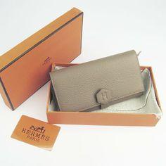 kelly hermes wallet - Hermes Dogon Zip Orange Togo Leather Sliver Hardware Women's ...