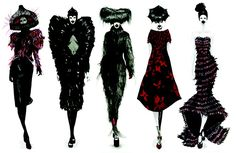 fashion illustration - Поиск в Google