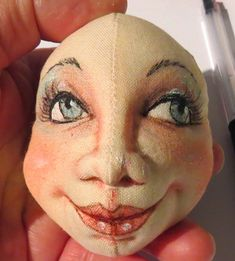 SFM Cloth Dolls With Attitude!: Needle-sculpting and colouring a face Tutorial