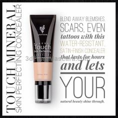 Younique concealer! This amazing product is outstanding at flawless coverage WITHOUT the Heavy Cakey feel of other concealers or foundations. Try it today.....honestly, you will not be disappointed. But if you are, we have our 14 day money back guarantee......