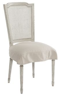 Slipcovered Side Chair