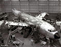 Seatle; B-707 üretim hattı