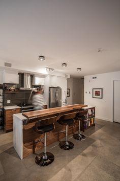 Cuisine KnightsBridge Condo, Conference Room, Kitchen, Table, Design, Furniture, Ideas, Home Decor, Modern Kitchens