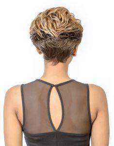 Diana bohemian pure natural wig Prada is a short length wig made by futura fiber. Stacked Bob Hairstyles, Short Pixie Haircuts, Hairstyles For Round Faces, Pixie Hairstyles, Short Hairstyles For Women, Short Hair Cuts, Straight Hairstyles, Curly Hair Styles, Natural Hair Styles