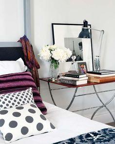 textiles + bedside