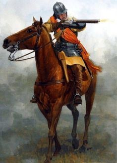 Parliamentarian dragoon During English civil war