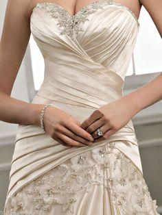 New White Ivory Wedding Dress Custom Size 4 6 8 10 12 14 16 18