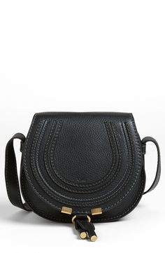 Free shipping and returns on Chloé 'Marcie - Small' Leather Crossbody Bag at Nordstrom.com. Curvaceous detailing ornaments the saddle-shaped flap of a luscious crossbody crafted from sumptuous grained leather.