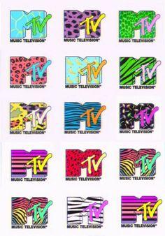MTV Logo, one of the best graphic design platforms ever. - MTV Logo, one of the best graphic design platforms ever. A couple of Adverse Quarters 90s Design, Logo Design, Rock Poster, New Retro Wave, 80s Theme, 2 Logo, Website Design, Oldschool, 80s Kids