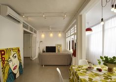 13 SMALL Homes so beautiful you won't believe they're HDB flats Interior Design Singapore, White Brick Walls, Tiny Apartments, White Doors, Apartment Interior, Minimalist Home, Design Firms, Home Deco, Home And Living