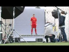 Video: Liverpool players model the new 2012-13 LFC kit