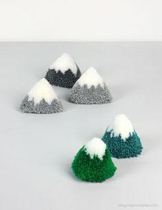 DIY Пом-Пом Village Playsets: DIY пом пом