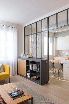 El encanto de un techo de cristal: MARION LANOE, diseñadora de interiores y ... #cocinas #cristal #de