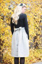 Winter Shirt Dress - Elle Apparel by Leanne Barlow Diy Clothing, Sewing Clothes, Dress Sewing, Shirt Dress Tutorials, Diy Jupe, Tutu, Winter Dresses, Winter Skirt, T Shirt Diy
