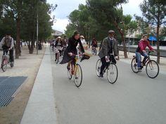 Tweed Riders en Madrid Rio