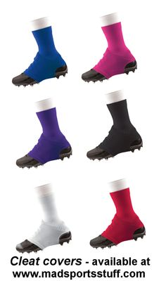 Why cleat covers?  Read a couple of articles on our soccer board.  A safety must for any player playing on artificial turf, but especially goalies...