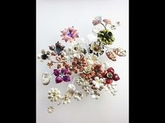 Nancy L. Hamilton - can't go wrong with her wonderful videos. How to Make Metal Flowers, Part: 1 - YouTube