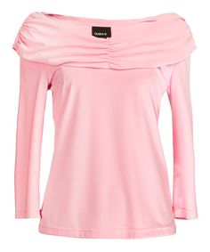 Take a look at this Pink Marilyn Top - Women by Clara Sunwoo on #zulily today!