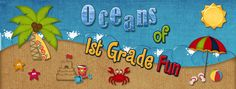 Oceans of First Grade Fun- daily word problems for combinations