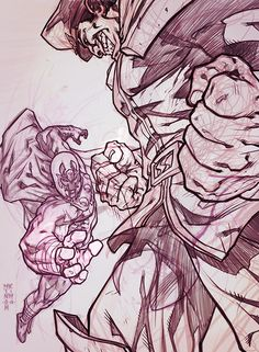 Mags VS Bison by MinohKim.deviantart.com on @deviantART