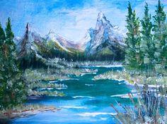 Artist Portfolio Gallery for Al Budarin Artist Portfolio, Outdoors, Mountains, Gallery, Nature, Painting, Travel, Naturaleza, Viajes