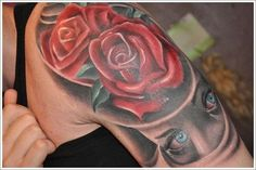 nice Tattoo Trends - 45 Beautiful Rose Tattoo Designs For Women and Men
